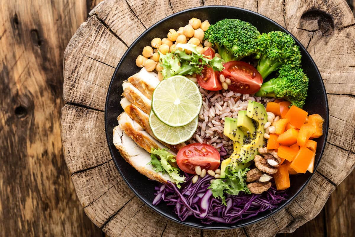 How much protein can your body absorb: Buddha bowl